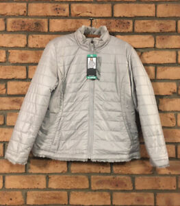 Nicole Miller Reversible Plush Faux Fur Full Zip Womens Jacket NEW NWT XL XLarge