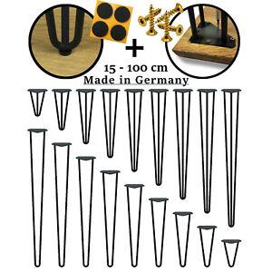 Hairpin Legs Haarnadelbeine Hairpins Tischbeine Tischkufen Esstisch Hairpinlegs