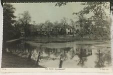 England The Pond Chislehurst RPPC Tuck - posted 1962