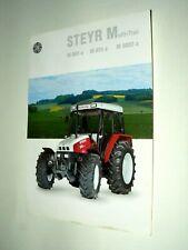 Prospectus Tracteur STEYR Multi Trac 1994 tractor traktor trattore brochure