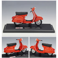 1:18 Alloy Scooter Model Vespa GTR 1968 Collectible Diecast Motorcycle