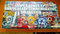 NY Giants vs Buffalo Bills 25th XXV Super Bowl Commemorative Collection