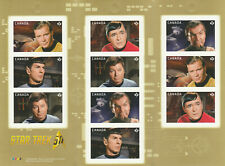 2016 STAR TREK 50TH - CANADA POST - BOOKLET OF 10 STAMPS