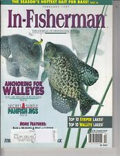 In-Fisherman Magazine Feb. 1997 Bass , 155 pages fishing , Panfish jigs /l6