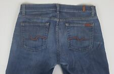 7 FOR ALL MANKIND Men's Denim Jeans 34X34 Bootcut Faded