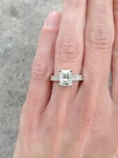 1.75ct. FOREVER BRILLIANT  MOISSANITE  RADIANT-CUT BAND RING in 14k