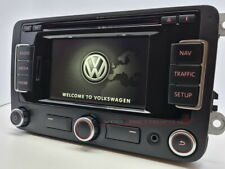 GENUINE VW RNS315 SAT NAV GOLF PASSAT SCIROCCO JETTA DAB CODE BLUETOOTH