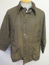 """Vintage Barbour A835 Bedale Waxed jacket - M 40"""" Euro 50 in Green"""