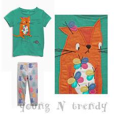 BNWT NEXT 18-24 months girl  CAT TOP/T-SHIRT*CATS GREY LEGGINGS SET