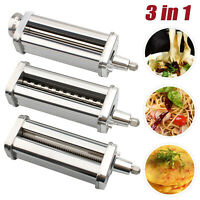 Stainless Pasta Maker Attachments for Stand Mixer Pasta Sheet Roller Cutter