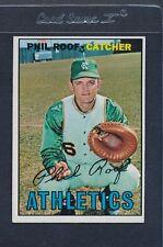 1967 Topps #129 Phil Roof Athletics EX *1032