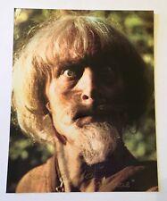 Geoffrey Baldwin Catweazle 10X8 Colour Genuine Signed Authentic Autograph photo