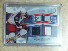 08-09 UD ICE Fresh Threads RC Rookie Jersey Patch DERICK BRASSARD /25