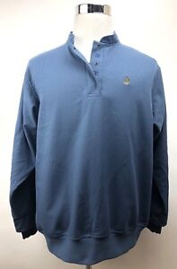 Zero Restriction Golf Pullover Woman's Large Blue  Check Long Sleeve Windbreaker