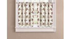 "Better Homes and Gardens Texas Stars Kitchen Curtains (30""x36"") wm9 m01"