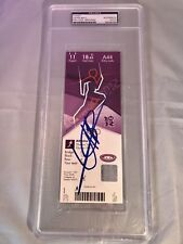 Usain Bolt Signed London 2012 Olympics Track N Field Ticket PSA DNA CERT