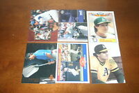 M26 Lot of 30 Different Jose Canseco Topps Insert Upper Deck Score