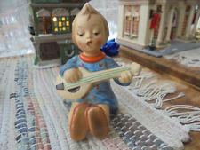 """Vintage Hummel Figurine Mandolin Player 53 Germany 4.5"""" Tall"""