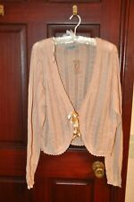 Ladies cardigan, size 18/20 Peach