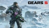 Gears 5 Winter Armor Marcus Skin + Neon Wave Weapon Skin Xbox ONE/ Windows 10