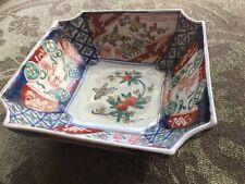 Antique Meiji Period Japanese Imari Bowl
