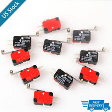 10X Momentary V-156-1C25 Limit Switch Roller Micro Switch Spdt Snap Action New