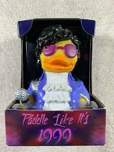 Celebriducks Prince Themed Rubber Ducky Paddle Like Its 1999! Read! Bath Gift