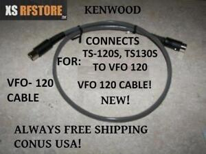 Kenwood VFO 120 CABLE (VFO 120 TO RADIO TS-120S OR TS-130S)