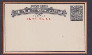 British Central Africa, HG 1, Post Card fine unused, Lot 7161