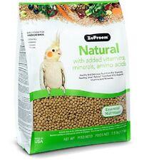 ZUPREEM NATURAL COMPLETE FOOD FOR COCKATIELS/LOVEBIRDS/PARAKEETS 1.1KG (2.5LB)