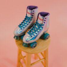 Impala Rollerskates Holographic Quad Skates Women's Size 8