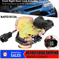 Door Lock Actuator Front Right Driver Side FIT FORD Falcon AU, BA & BF 1998-2006