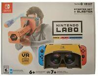 Nintendo Labo Toy-Con 04 VR Kit Starter Set (2019) New in Box!! Free Shipping!!!