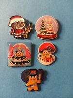 Peccy Pins - Set of 5 Peccy for the holidays pins!