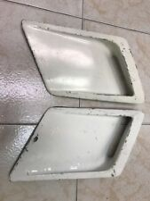 Used 1980 1981 Camaro Z28 GM White Fender Vents Grilles Grill Extractor Vent
