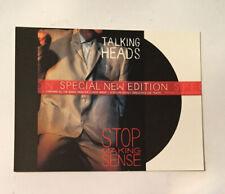 Talking Heads-Stop Making Sense-Promo Postcard