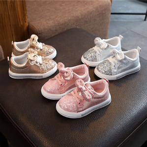 New Child Toddler Sports Running Shoe Kids Girls Boys Trainers Shoes Size 4.5-11