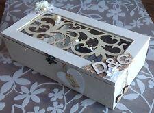 Personalized Luxury Wedding Wooden Memory/Keepsake Photo box Xmas Gift, Wedding