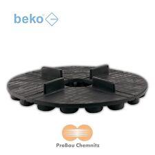 beko TERRASYS Plattenlager Flex, Terrassen Platten, 3 x 10 mm, Ø120 mm, 50 Stück