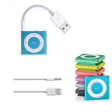 NEW Charger Adapter Data USB 3.5mm Sync Audio Cable for iPod Shuffle 3rd 4th Gen