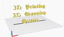 3D Printing & 3D Scanning Service Washington! FDM & SLA Printing process!