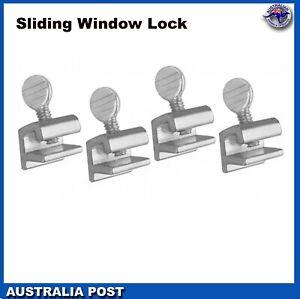 4 x Sliding Window door Lock Safety Security Lock