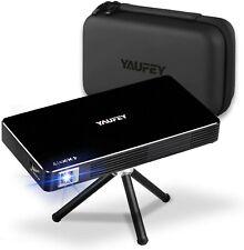 Neues AngebotYaufey Mini Projektor, Portable Wireless DLP Projector for Home Video Kino...