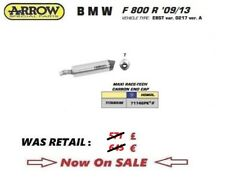 BMW F 800 0R 09 10 11 12 13 14 15 16 EXHAUST SLIP ON ARROW RACE TECH TITAN EEC