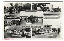 Andover - Multiview Real Photo Postcard c1950s.