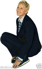 ELLEN DEGENERES The Ellen TV Show Promotional Pose  - Window Cling StickOn Decal