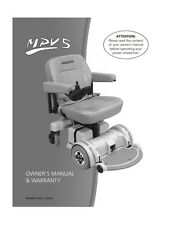 HOVEROUND MPV5 TECH REPAIR eGUIDE + eMANUAL for Wheelchair Owners's. PDF File