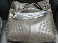 BCBG MAXAZRIA Brown Leather Women's Handbag / Shopper Purse NWOT