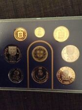 Portugal  1998 -- 8 Coin Proof Set (RARE FIND-Coin Case Has Never Been Opened)