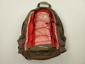 The North Face Jester Laptop/Hiking Backpack - 27 Liter Pink/Brown